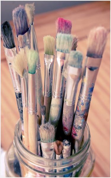 Paintbrushes 1sm