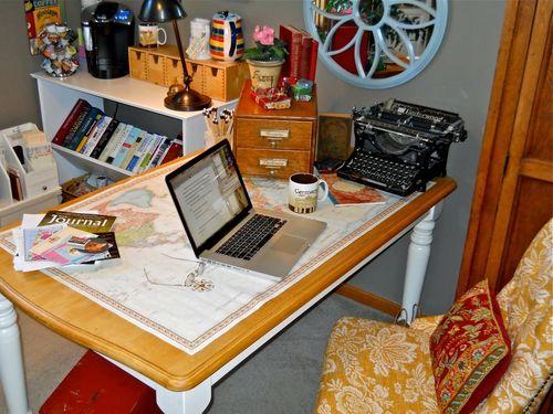 Deb's desk