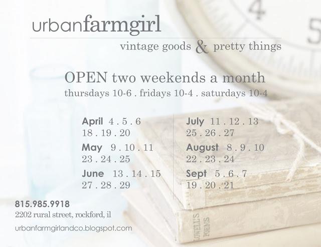 Urban Farmgirl open