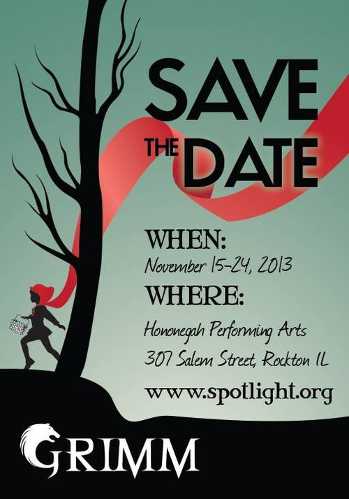Grimm save the date