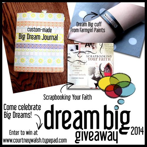 Dream big giveaway