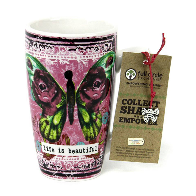 Collect-share-empower-cup