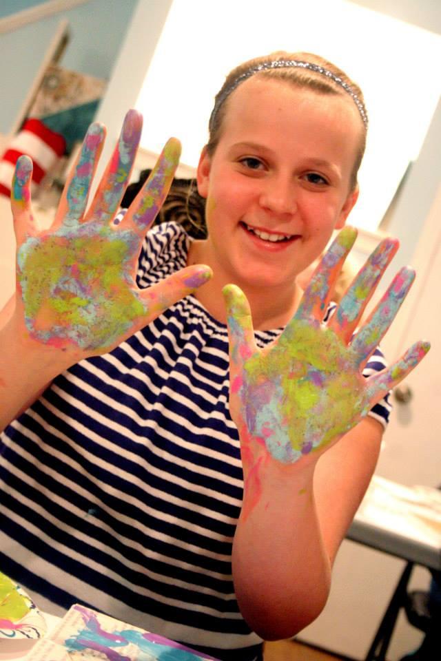 Artsy hands